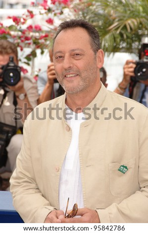 "French actor JEAN RENO at the photocall for the cast of ""The Da Vinci Code"" at the 59th Annual International Film Festival de Cannes. May 17, 2006  Cannes, France.  2006 Paul Smith / Featureflash - stock photo"