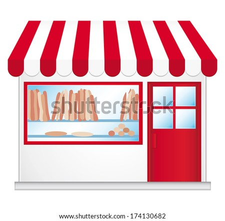 French bakery. - stock photo
