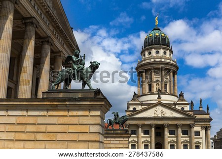 French Cathedral at the Gendarmenmarkt, Berlin