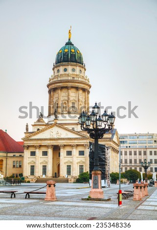 French cathedral (Franzosischer Dom) in Berlin, Germany