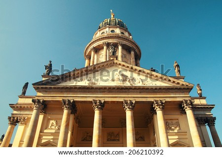 French Cathedral Germany Berlin