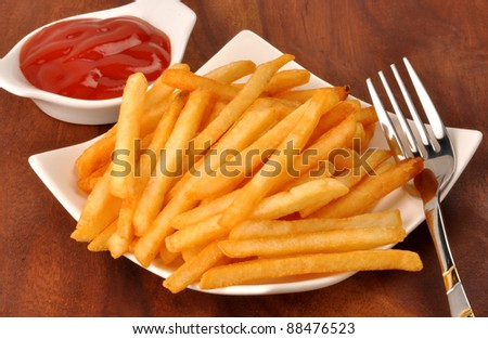 French Fries 10 - stock photo