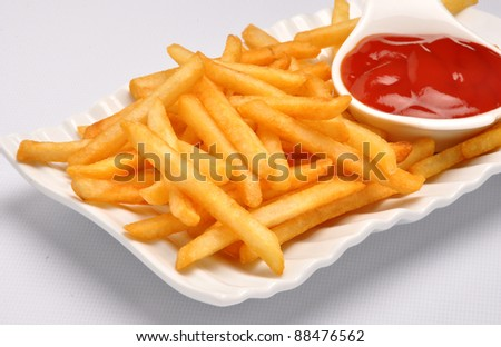 French Fries 14 - stock photo