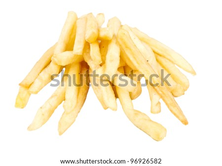French fries, potatoes