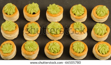French gastronomy, Bourgogne snails in puff pastry