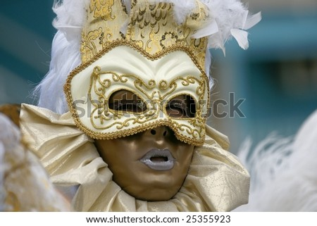 French Guiana carnival - stock photo