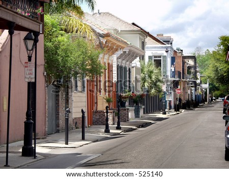 French Quarter, New Orleans - stock photo