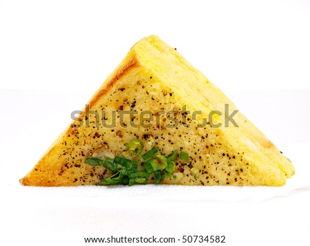 french sandwich as a triangle