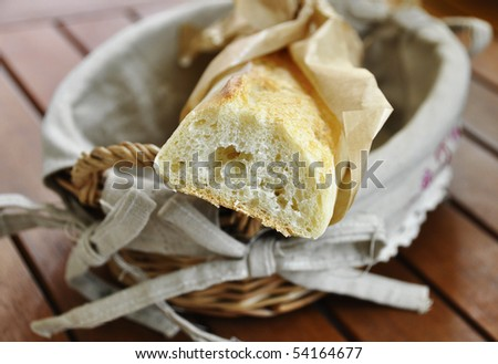 French stick - stock photo