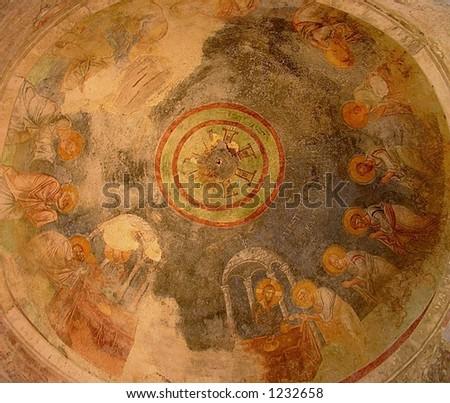 fresco - stock photo