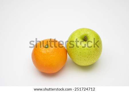 Fresh and juicy fruit/Sweet fruit
