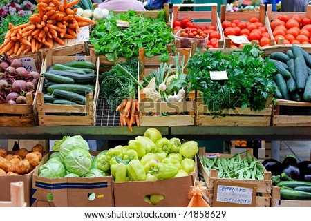Farmers Market Stock Images RoyaltyFree Images Vectors - The 10 freshest farmers markets in canada