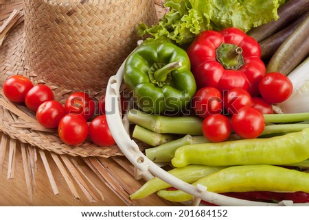 fresh and vegetables