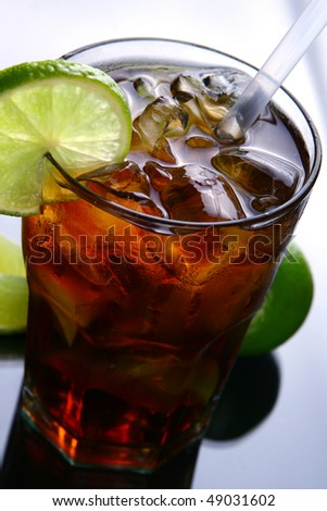 fresh and very tasty drink - stock photo