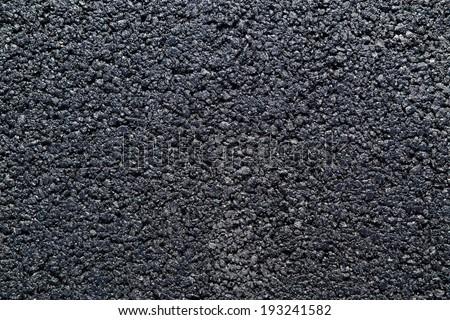 Fresh Asphalt Road Background or Texture - stock photo