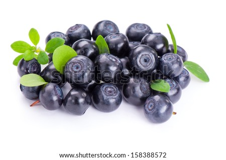 Fresh blueberries  - stock photo