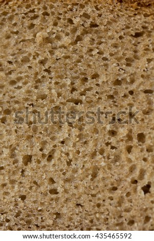 fresh bread macro texture background