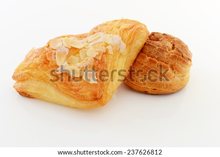 Fresh breads on the table