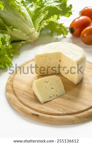 Fresh Caciotta, Italian Cheese