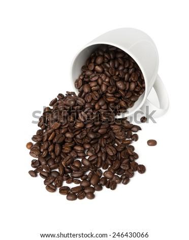 Fresh Coffee Cup - stock photo