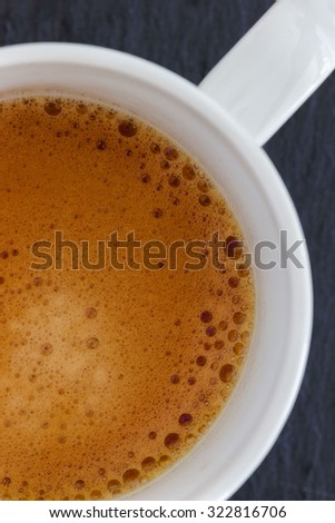 Fresh coffee macro composition - stock photo