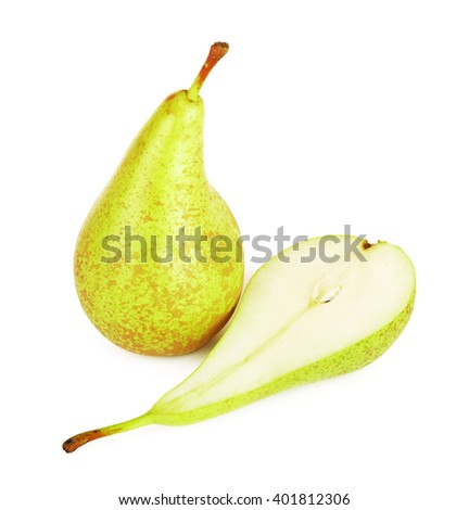 Fresh Conference Pears - stock photo