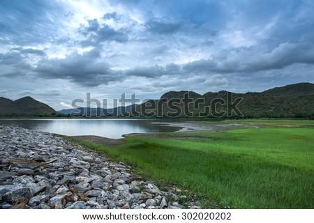 Fresh Dam - stock photo