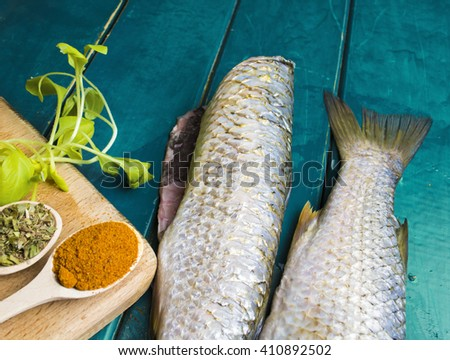 Stock images similar to id 307231637 delicious portion for Aromatic herb for fish