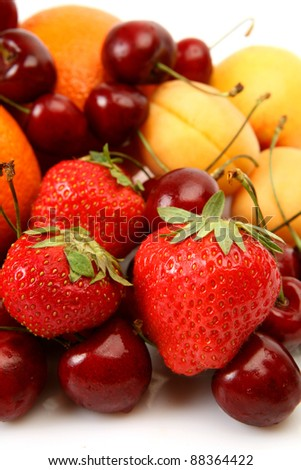 Fresh fruit and berries