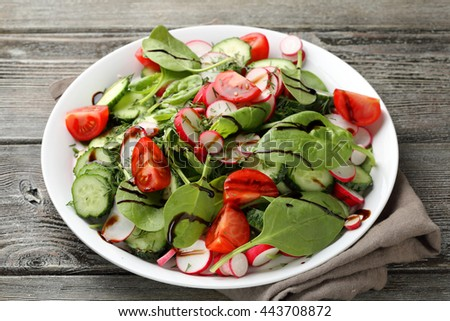 fresh healthy lifestyle salad, food close-up