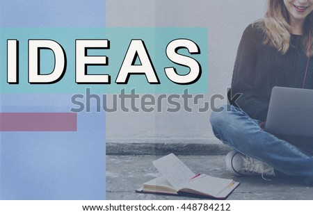 Fresh Ideas Objective Proposal Strategy Action Concept - stock photo