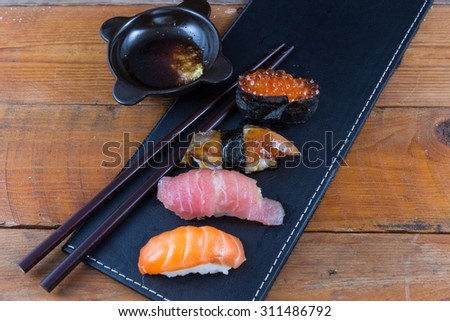 Stock images royalty free images vectors shutterstock for Blue fish sushi thai