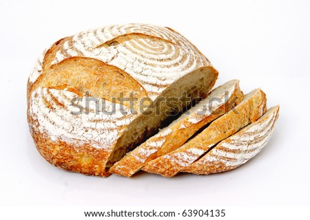 Fresh loaf of French bread - stock photo