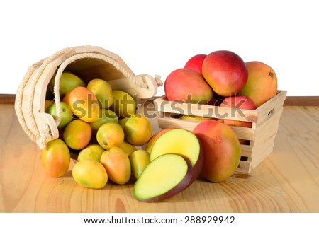 Fresh Mango - stock photo