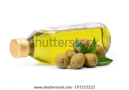 Fresh oil olives