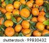 Fresh orange fruit in the market - stock photo