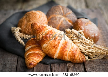 Fresh pastries - stock photo