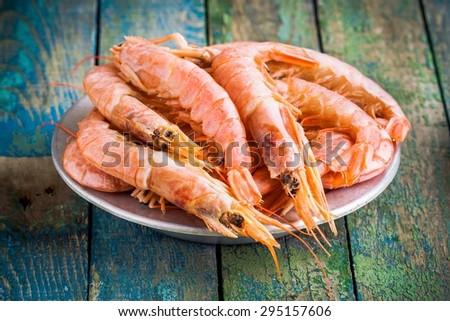 how to make peeled prawns
