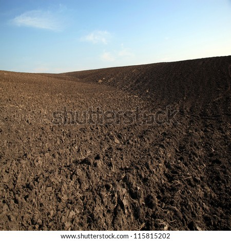 Fresh soil - stock photo