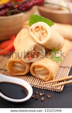 Fresh spring rolls