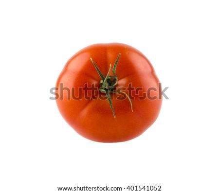 Fresh tomato. red tomato. isolated tomato. tomato on a white background. delicious tomato. tomato vegetable. cherry tomato - stock photo