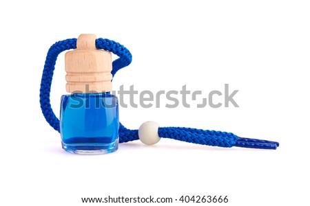 Freshener isolated on white background - stock photo