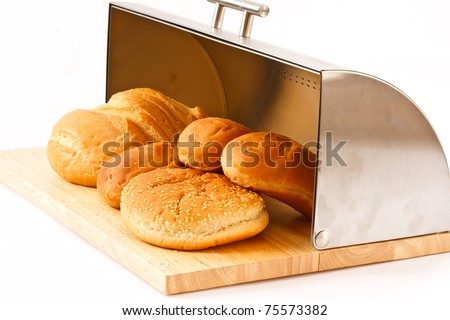 freshly baked bread in the breadbasket complex