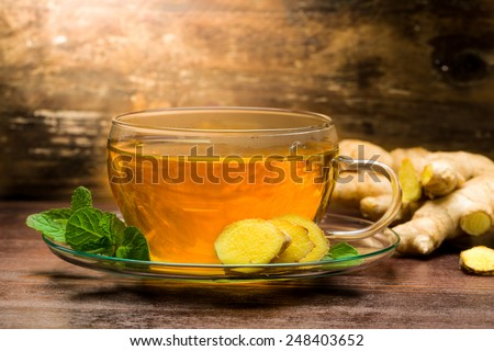 Freshly Brewed Ice Tea With Fresh Mint Recipes — Dishmaps
