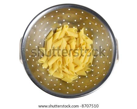 Freshly cooked pasta - stock photo