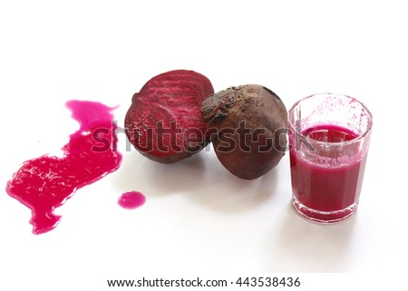 freshness beetroot juice