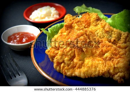 Chinese Food Coconut Chicken Sauce Mayonnaise