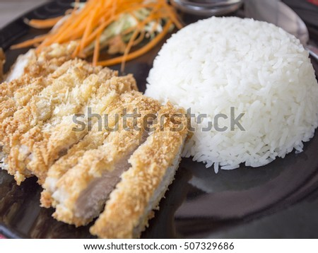 Fried foods of Thailand.