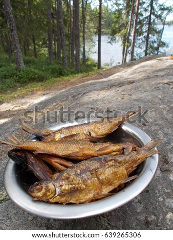 Golden sea bream stock images royalty free images for Fish on fire menu