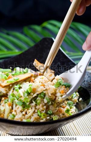 fried rice - stock photo